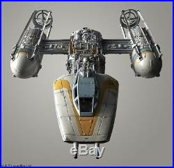 Bandai Star Wars Y-Wing 1/72 Scale Model Custom Painted Pro Built with Lights