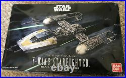 Bandai Star Wars Y-wing Starfighter 1/72 Scale Model Kit