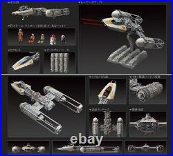 Bandai Star Wars Y-wing Starfighter 1/72 Scale Model Kit The Force Awakens Toy