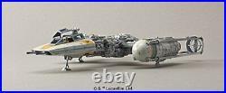 Bandai Star wars Y-Wing Starfighter 1/72 Model kit Bandai BAN196694 Japan New