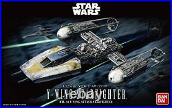 Bandai Star wars Y-Wing Starfighter 1/72 Model kit Bandai BAN196694 Japan New