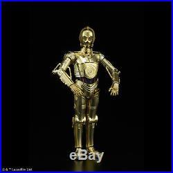 C-3PO & R2-D2 Modellbausatz 1/12 von Bandai, Star Wars Episode VIII, Model Kit