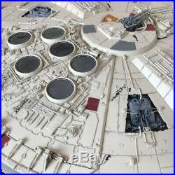 Deagostini Millennium Falcon Finished Plastic Model 1/43 scale from Japan F/S