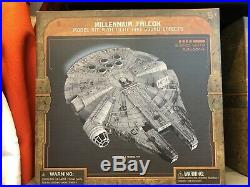 Disneyland Star Wars Galaxy Edge Millennium Falcon 3D Model Kit Build Your Own
