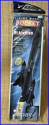Estes SR-71 Blackbird Flying Model Rocket Kit #1942 NEW SEALED 2006