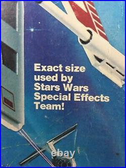 Estes Star Wars Maxi-Brute X-Wing Fighter flying model rocket (1977) kit
