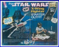 Estes flying model rocket Star Wars T-65 X-wing Fighter Outfit vintage 1422 NIB