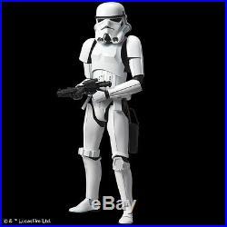 FROM JAPANStar Wars Stormtrooper 1/6 Plastic Model Bandai