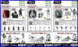 Fascinations ICONX Star Wars DARTH VADER STORMTROOPER BOBA FETT 3D Model Kit Set