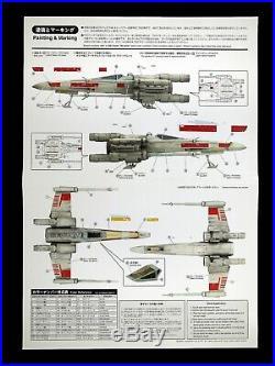 FineMolds Star Wars 1/48 X-WING Fighter T-65X SW-9 Model Kit Fine Molds (3)