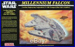 Fine Molds 172 Star Wars Millennium Falcon Plastic Model Kit #SW-6