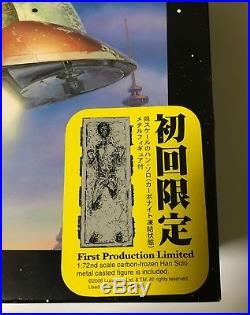 Fine Molds 1/72 Scale SLAVE ONE model kit, Includes Han in carbonite, (SW7)