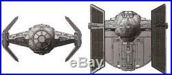 Fine Molds 1/72 Star Wars series Darth Vader dedicated Thai Fighter model Kit
