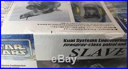 Fine Molds Star Wars 1/72 Jango Fett Slave I Model Kit Factory Sealed NIB
