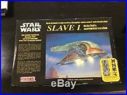Fine Molds Star Wars 1/72 SLAVE I Bobo Fett SW-7 Model Kit Bonus OOP