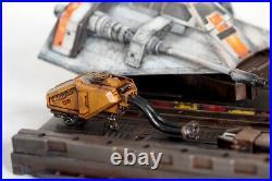 Fine Molds Star Wars 1/72 Snowspeeder Model kit painted with Custom Base