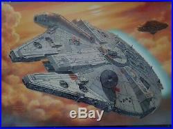 Fine molds Star Wars 1/72 Scale Millenium Falcon Model Kit Bandai Revell