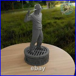 Freddy Krueger Nightmare On Elm Street Figure Custom Resin Model Kit DIY Paint