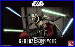 General Grievous Modellbausatz 1/12 von Bandai, Star Wars Episode III Model Kit