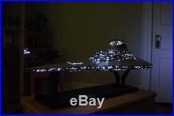 HUGE Star Wars Imperial Star Destroyer Detailed Hanger & Lambda Class Shuttle