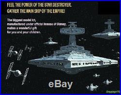 Imperial Star Destroyer Zvezda + Backlight Set, New In Box