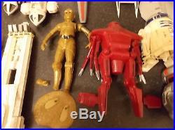 Job Lot Of Vintage Airfix Revell Model Kits Space 1999 Star Wars Black Hole Etc