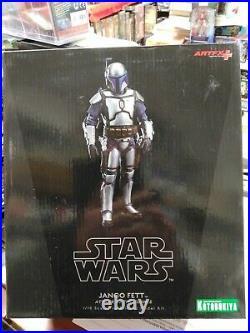 KOTOBUKIYA Star Wars JANGO FETT 1/10 Prepainted Model Kit NEW FACTORY SEALED