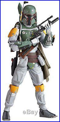 Kaiyodo Figure Complex Star Wars New Revoltech No. 005 BOBA FETT 9 in. Figure