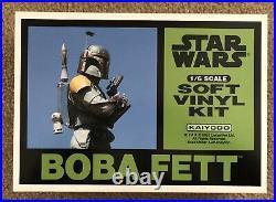 Kaiyodo Star Wars 1/6 Boba Fett Soft Vinyl model kit (1993)