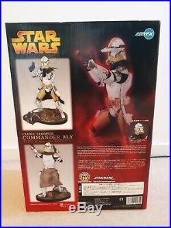 Kotobukiya ARTFX Star Wars Clone Trooper Commander Bly 17 Scale Vinyl Model Kit