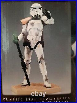 Kotobukiya ARTFX Star Wars Sandtrooper Commander 17 Scale Vinyl Model Kit
