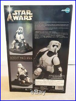 Kotobukiya ARTFX Star Wars Scout Trooper 17 Scale Vinyl Model Kit