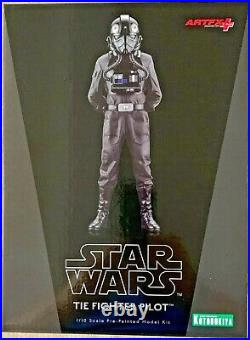 Kotobukiya ARTFX Star Wars Tie Fighter Pilot 1/10 Scale Pre-Painted Model Kit