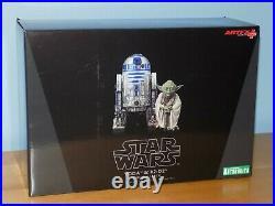 Kotobukiya ARTFX+ Star Wars YODA R2D2 Dagobah 1/10 Model Kit Statue Sealed New
