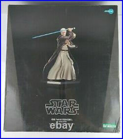 Kotobukiya ArtFX 1/7 Scale Obi-Wan Kenobi A New Hope Pre Painted Model Kit