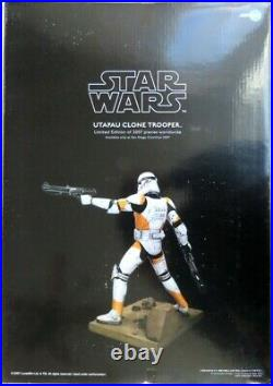 Kotobukiya ArtFX UTAPAU CLONE TROOPER Star Wars pre-painted model kit SDCC