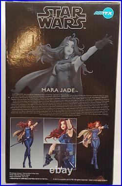 Kotobukiya Artfx Star Wars Mara Jade Bishoujo 1/7 Vinyl Statue Model Kit New