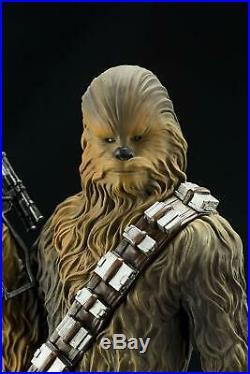 Kotobukiya / Artfx+ Star Wars Model Kit Han Solo & Chewbacca Two Pack