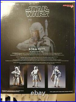 Kotobukiya Star Wars Boba Fett Cloud City 1/10. Scale Painted Model Kit. Artfx