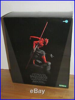 Kotobukiya Star Wars Darth Maul Japanese Ukiyo-E Style ArtFX Statue Model Kit
