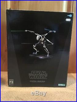 Kotobukiya Star Wars General Grievous 1/7 Scale Pre-Painted Model Kit