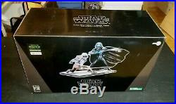 Kotobukiya Star Wars Luke Skywalker Vs Darth Vader Ralph Mcquarrie Model Kit New