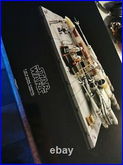 Kotobukiya Star Wars T-65 X-Wing Fighter Cross Section Prepainted Model Kit Rare