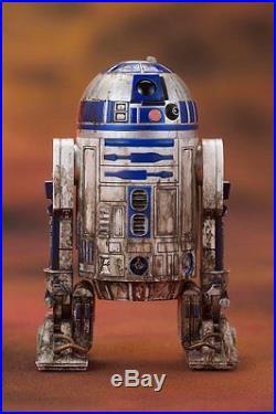 Kotobukiya Star Wars Yoda & R2-D2 Dagobah ARTFX+ Statue