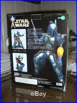 Kotobukiya/artfx Star Wars Jango Fett 1/7 Scale Vinyl Model Kit! Misb
