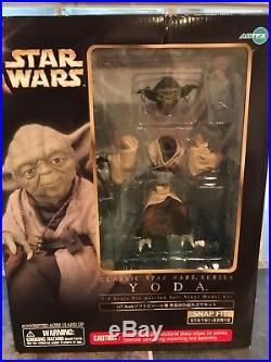 Kotobukiya/artfx Star Wars Yoda 1/7 Scale Vinyl Model Kit