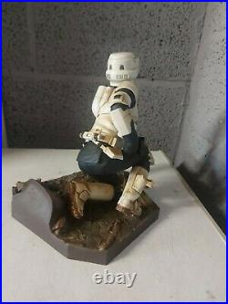 Kotobukiya artfx star wars scout trooper 17 scale vinyl model kit mandalorian