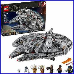 LEGO Star Wars The Rise of Skywalker Millennium Falcon 75257 Starship Model Kit