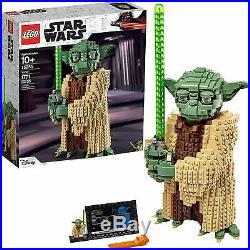 LEGO YODA KIT 75255 STAR WARS YODA MODEL with Collectable MINI YODA, 1771 Pieces