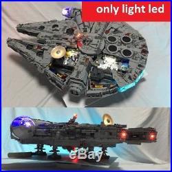 Led Light Kit Only For Lego Set Bricks Toy Kids Star Wars Model Falcon 75192